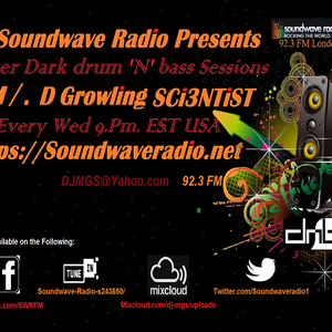 After Dark Mad Growling SCi3NTiST Presents drum'N'bass.Vol.11 'The Mission'