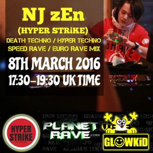 NJ zEn (JP) Guest @ Generation X [RadioShow]-Planet Rave Radio (08MAR.2016)