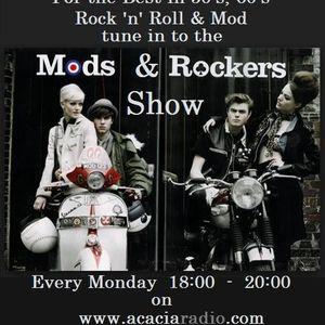 Mods & Rockers Show Acacia Radio Monday 25/05/15