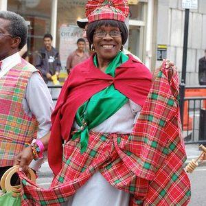 Mrs. Ethelca Brand & Darren Sylvester on her OBE