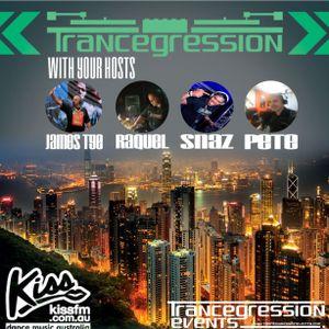 Snaz on Trancegression 383 Kiss Fm Dance Music Australia 23/6/16