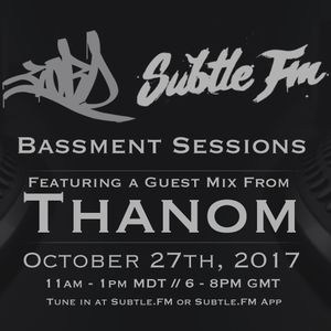 CORD - Bassment Sessions On Subtle.FM with Thanom [10.27.2017] [044]