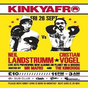 Neil Landstrumm (Live PA) @ KinkyAfro - Sub Club Glasgow - 26.09.2008