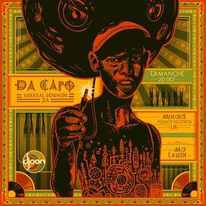 Mo Laudi @ African Roots, Djoon, Sunday October 20th, 2013