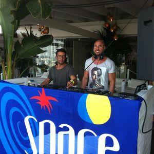HITCH & Iban Reus b2b at CRYSTAL IBIZA (IBIZA CALLING pre-party) August 20th 2012