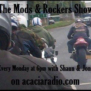 Mods & Rockers Show Acacia Radio Monday 19/06/15
