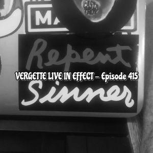 Episode 415-Vergette Live In Effect-The Stunt Man's Radio Show