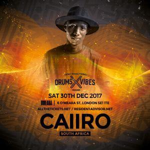 Drums x Vibes Sat 30th Dec - Dj Caiiro