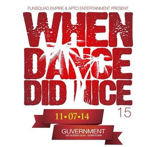 When Dance Did Nice 15 Promo CD