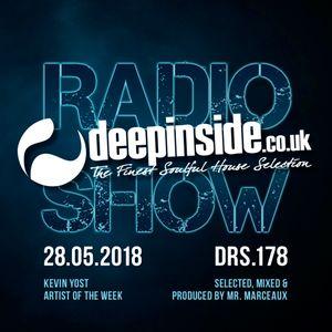 DEEPINSIDE RADIO SHOW 178 (Kevin Yost Artist of the week)