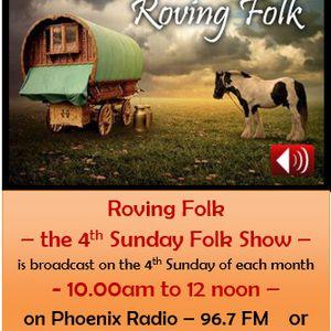 Roving Folk - 25th Oct 2020 - the 4th Sunday Folk Show - on Phoenix FM - Halifax - West Yorkshire
