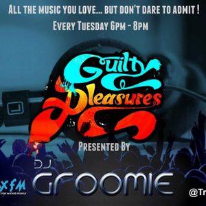 DJ Groomie's Guilty Pleasures Show  Replay On www.traxfm.org - 27th June 2017