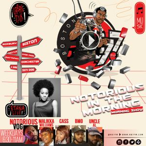 NOTORIOUS IN THE MORNING ETANA INTERVIEW 3/02/18 W/ NOTORIOUS VOG, MALIKKA, CASS, BMO, & UNCLE AL