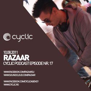 Cyclic Podcast Episode Nr 17 - Razaar - 10.08.2011