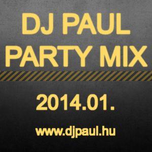 Dj Paul - Party Mix Top 10 2014.01. (www.djpaul.hu)