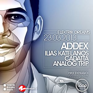 Lazy live @Loop Athens march 2013 on Addex party, with Ilias Katelanos and Analog Trip