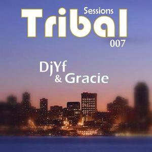 DjYf Tribal Session 007 Mix @ IMRTD Radio & Chic Radio (May 2011)