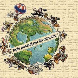 Apie pasaulį per 80 minučių: Padniestrė, Klaipėdos kapinės, Palestina, Šri Lanka, Suomija