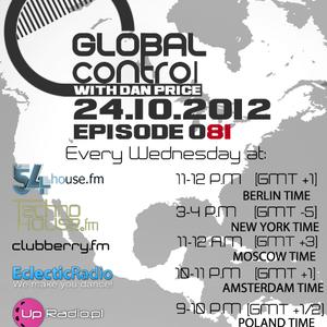 Dan Price - Global Control Episode 081 (24.10.12)