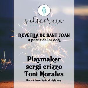 Revetlla de St. Joan (June 23th, 2019) - sergi erizzo + Playmaker + Toni Morales