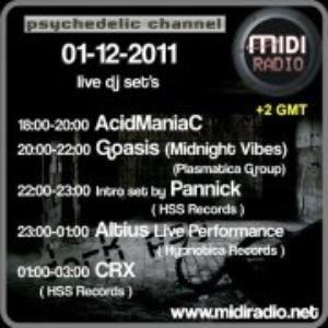 Altius Live at Midiradio pt1