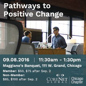 """""""Pathways to Positive Change"""" - Chicago Luncheon Sep 8, 2016"""