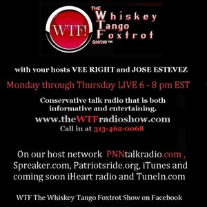 WTF!  8-4-15 w/guest Benny Vanover