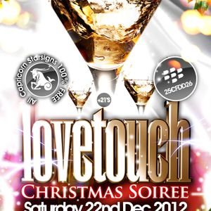Lovetouch Xmas Soiree Promo CD! Live recording Rnb, Bashment, Soca, Hiphop, & House