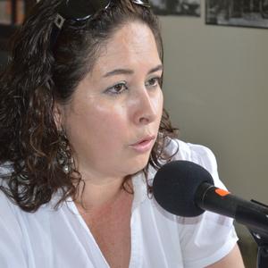 Mayra Samaniego.Una de las pocas mujeres en la admnistración pública