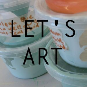 Let's Art! - Bronwyn Bailey-Charteris and Marcel Cooper