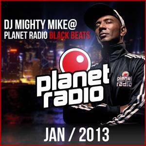 Planet Radio Black Beats JANUARY 2013