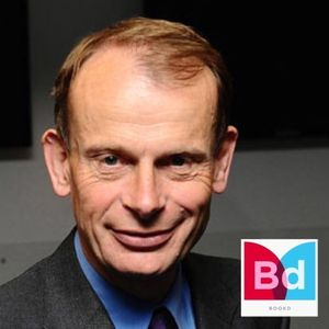 """Andrew Marr, The Author says """"This is not a candy coloured subject! Most of us can draw"""""""