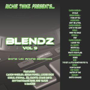 Richie Twinz Presents...Blendz Vol 9 90's UK R'n'B Edition