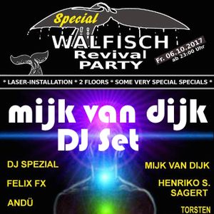 Mijk van Dijk Classic DJ Set at Walfisch Revival Party Berlin, 2017-10-06