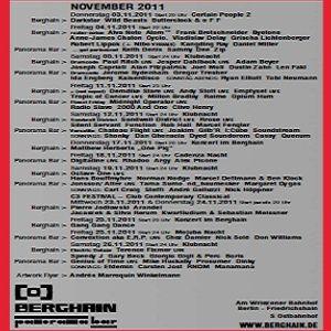 Jesper Dahlback @ Drumcode 15 Years - Berghain Berlin - 05.11.2011
