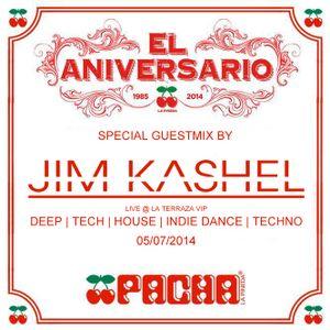 Jim Kashel @ Pacha La Pineda 29º Aniversario (05-07-2014)