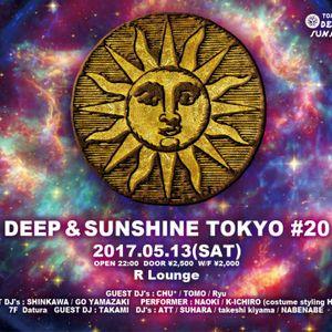 "DJ ATT @ R LOUNGE ""DEEP & SUNSHINE / Datura"" MAY 2017"
