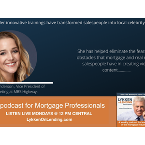 8 3 2020 Megan Anderson Is Vice President Of Marketing At Mbs Highway By Lykken On Lending Mixcloud Stop losing loans today, get the best tools and guidance in the mortgage industry. mixcloud