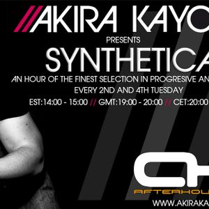 Akira Kayosa - Synthetica 037 ft Joe Berelli Guest Mix on AH.FM