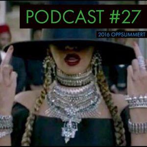 Podcast 27: 2016 oppsummert