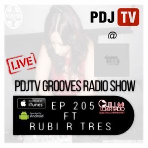 PDJTV Grooves Radio Show Ep 205