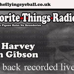 Dale Harvey & Iain Gibson (JACK 2 BACK) my fav things radio show - recorded live PT2