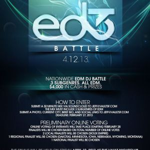 ED3 Nationwide EDM DJ Battle Entry (Royski's Set) - Royski