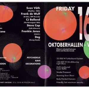 Sven Väth at The Rave Explosion Part II @ Oktoberhallen (Wieze-Belgium) - 16 October 1992