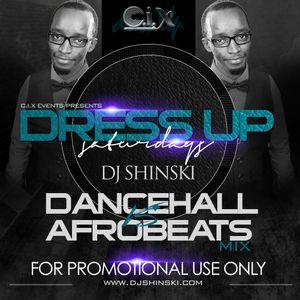 Dj Shinski - DanceHall vs Afrobeats California Promo Mix