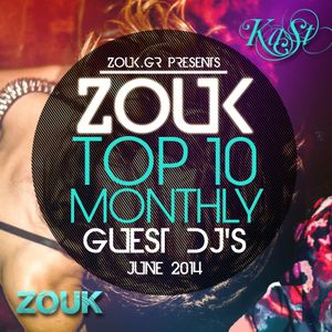 June 2014, Brazilian Zouk Top 10, DJ Kast