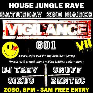 Vigilance Virus show 2 - Dj Trev Rave show originally broadcast Saturday 23rd Feb 2013