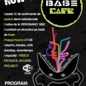 LiquidSundays 26 Sep Live from BASE Cafe - MrCukes / McRinno