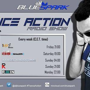 Dj Bluespark - Trance Action #330