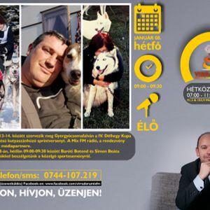 Kutyafogathajtó sprint verseny lesz Csomafalván - Beszélgetés a szervezőkkel